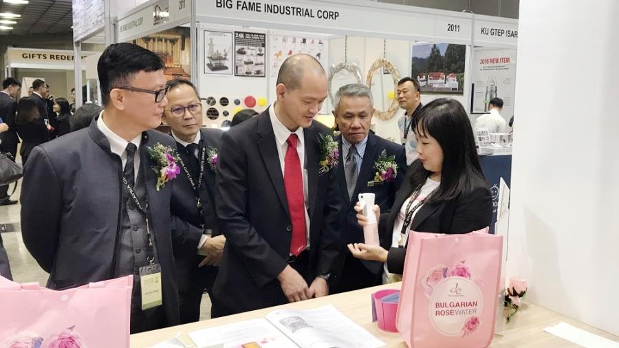 第一化粧品從2017年開始嘗試到國際參展,最看好馬來西亞市場。(照片提供 第一化粧品)