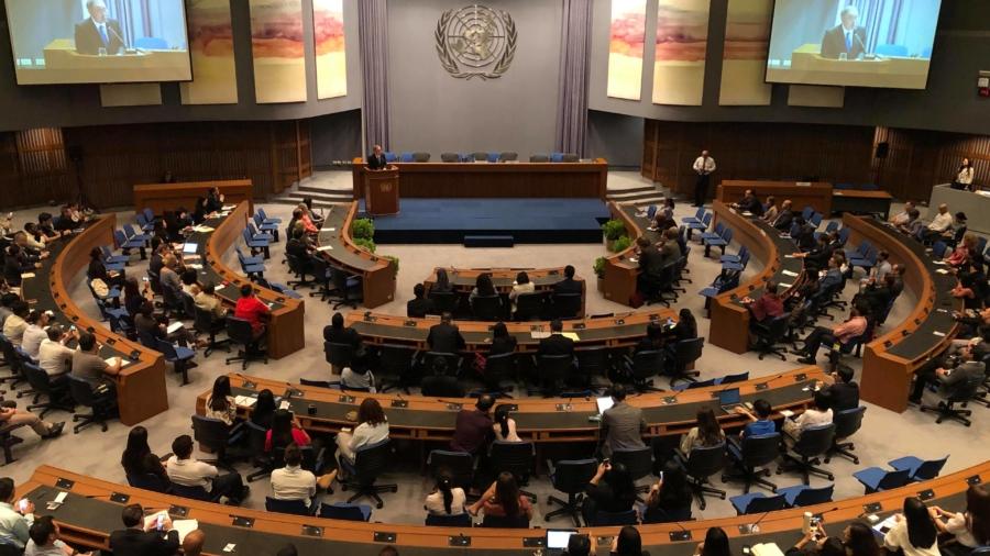 身為聯合國的工作人員,黃一展常需要出席聯合國會議,如2019年亞太地區的聯合國大會。