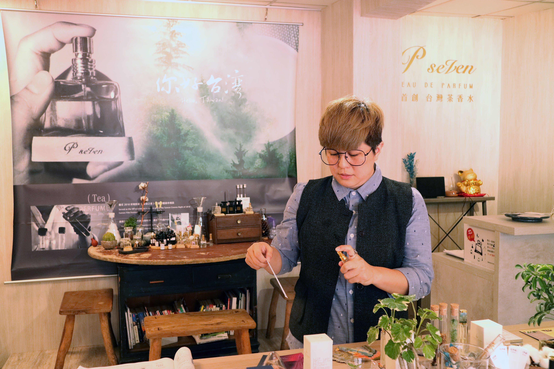 結合翻譯、茶道師經驗 氣味設計師潘雨晴讓道地台灣味飄香國際