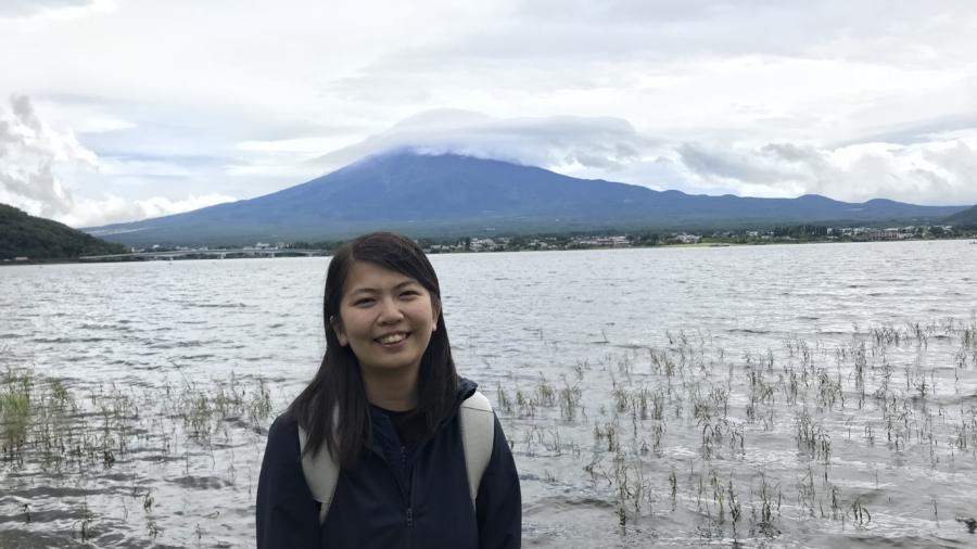 崔書晴(第三排左五)熱衷於海外交流,參與ERP日本駒澤大學交流活動。