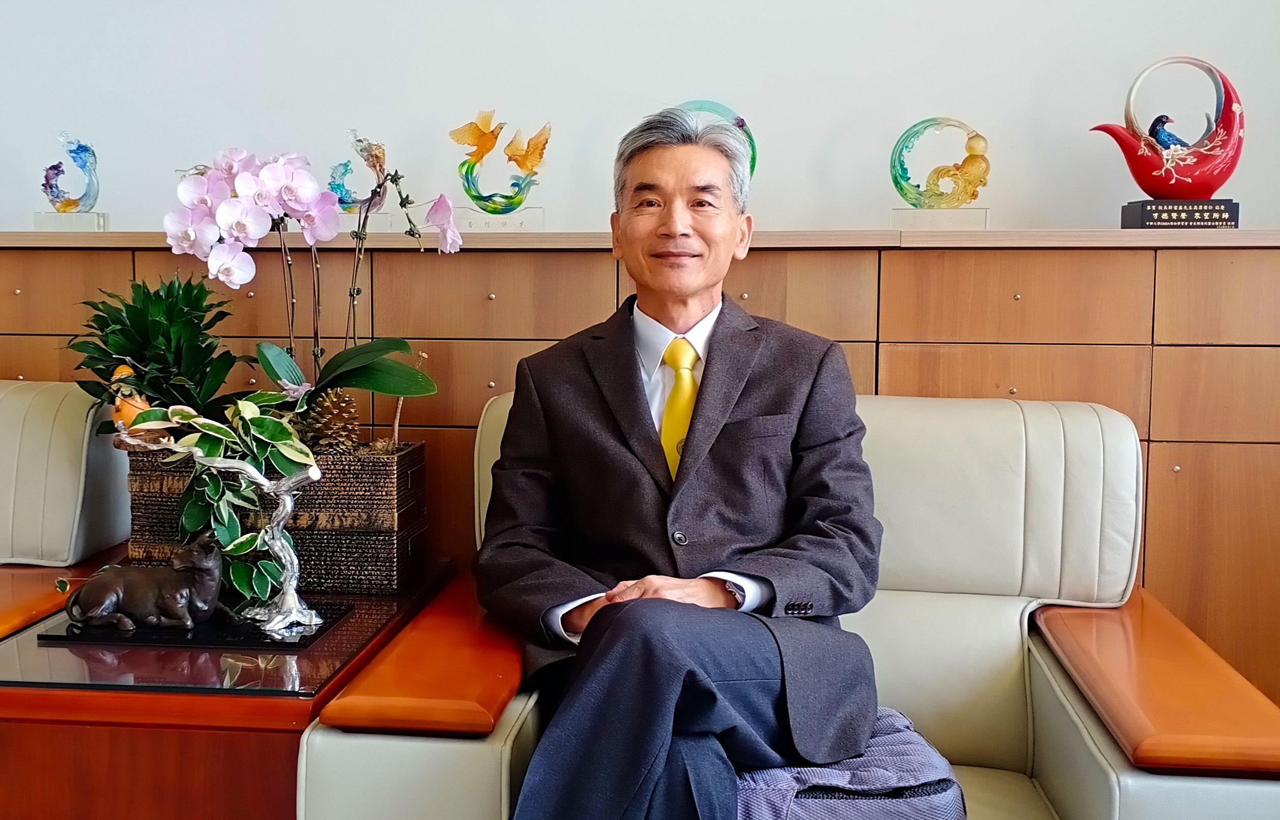 中興大學薛富盛 引領百年學府朝頂尖綜合大學邁進