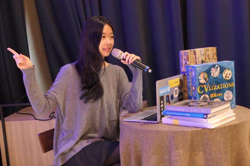 跳脫創作框架  她憑藉桌遊設計,入選富士比傑出青年